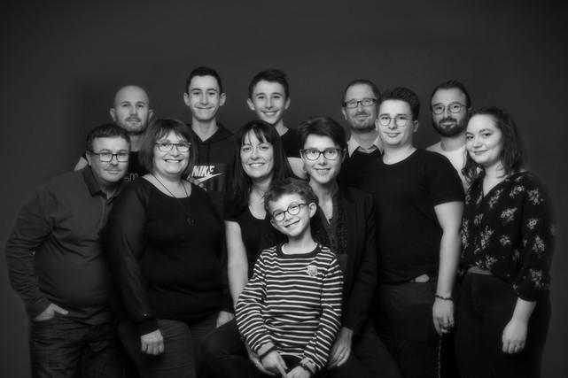 Photo grande famille
