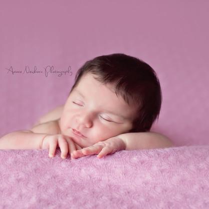 Maëlys 9 jours - Séance nouveau né