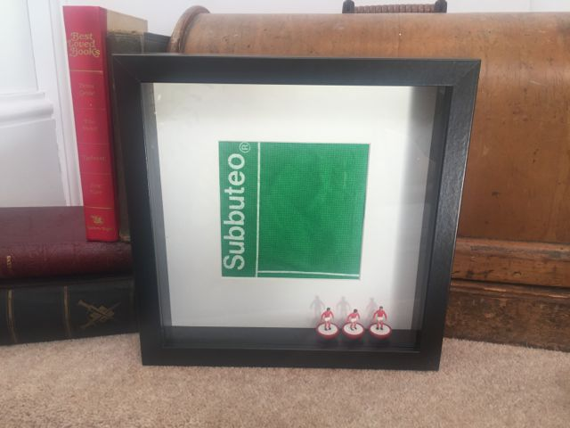 SUBBUTEO RED (BLACK FRAME)