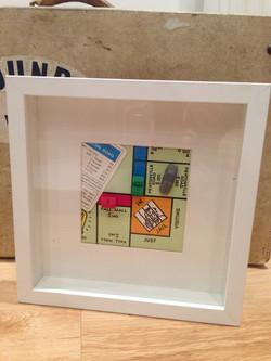 Vintage Monopoly Frame