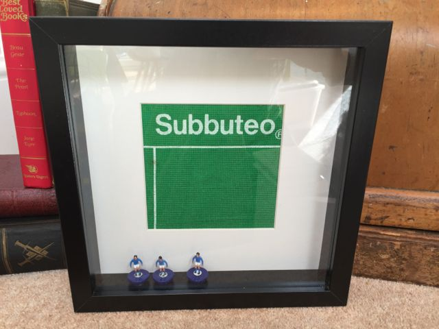 SUBBUTEO BLUE (BLACK FRAME)