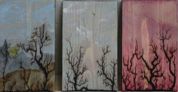 Wooden Plaques 1, 2 and 3