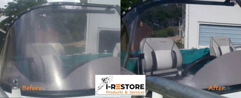 i-Restopre Poly-Carbonate Boat Screen Co