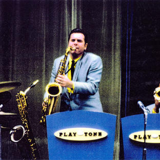 The Playtone Band with Don on Saxes