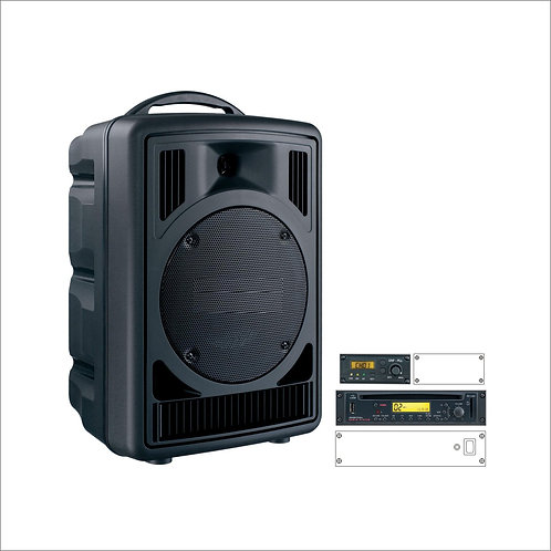 50W Portable CD Music & Wireless System