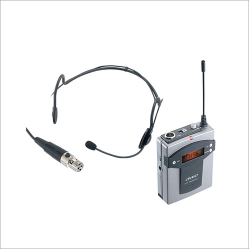 Headset & Bodypack Microphone For Portable Systems