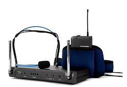 Headset radio microphone system
