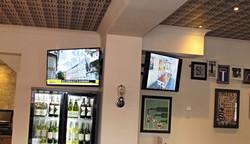 Multi screen TV installations