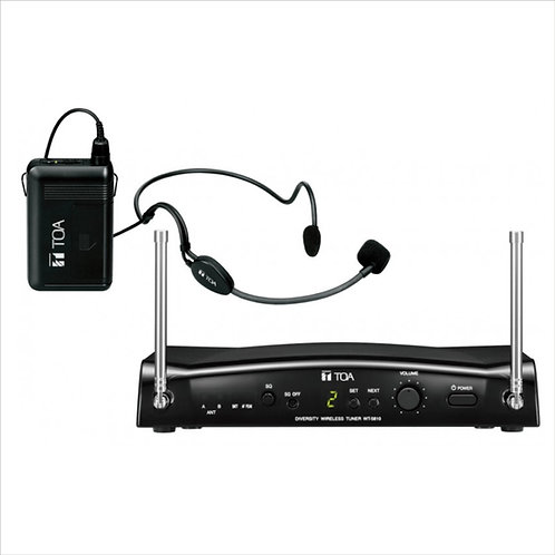 TOA WS-5325H UHF Headset Wireless System with WH-4000H Microphone