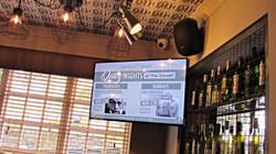 Video screen & audio installation
