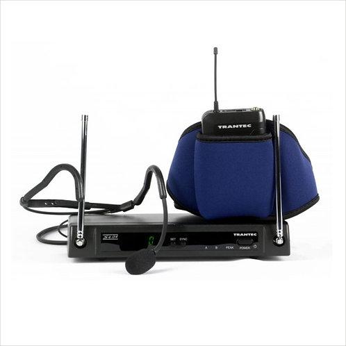Trantec S4.04-W Aerobics radio microphone system