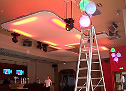 Installation of lighting, video & audio systems