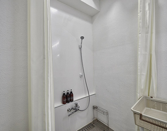 Deluxe Cabin シャワー室