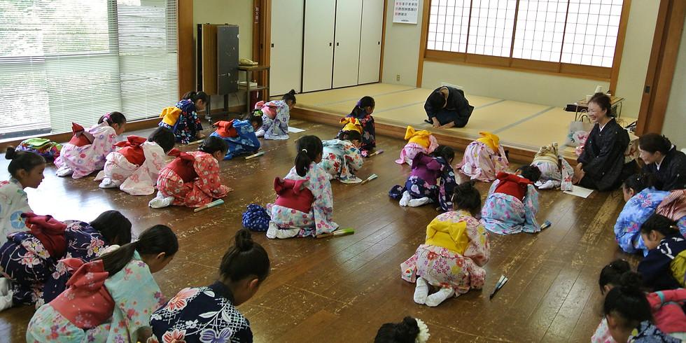 令和3年【7月1日募集開始】伝統文化 かまくら親子日本舞踊教室