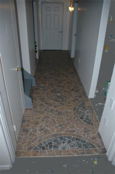 The entire hallway