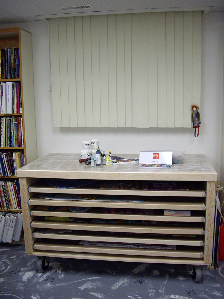 Work and storage table: I have two of these beauties!