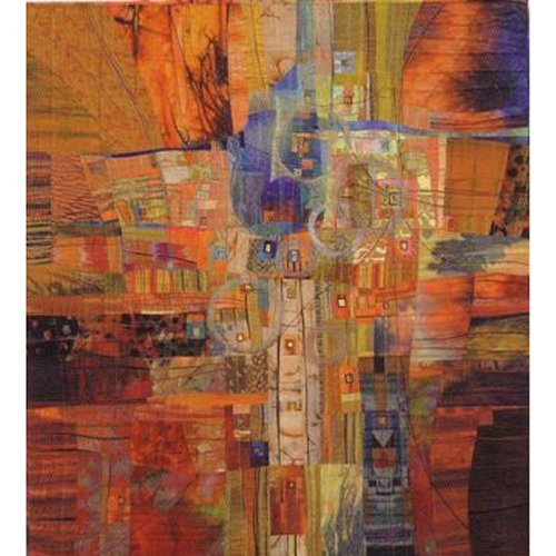 Are We There Yet? ~ art quilt by Rosalie Dace