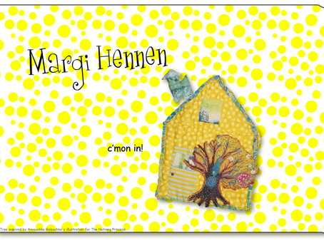 Margi Hennen has a new home . . . on the Internet!