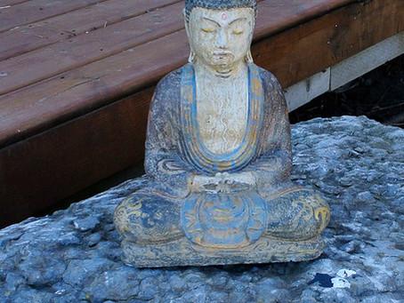 Buddha On the Rocks