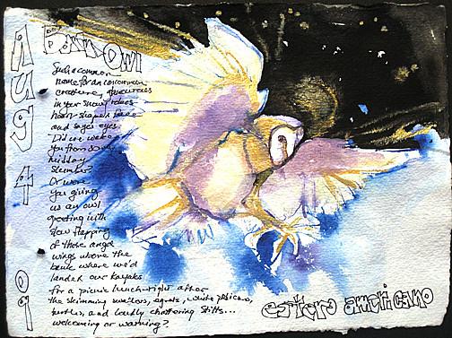 Barn Owl ~ by Susan Cornelis