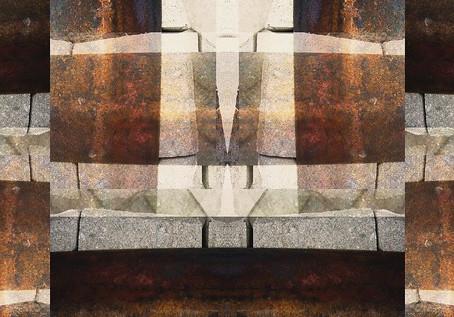 Rusty Railing Still Provides a Firm Foundation