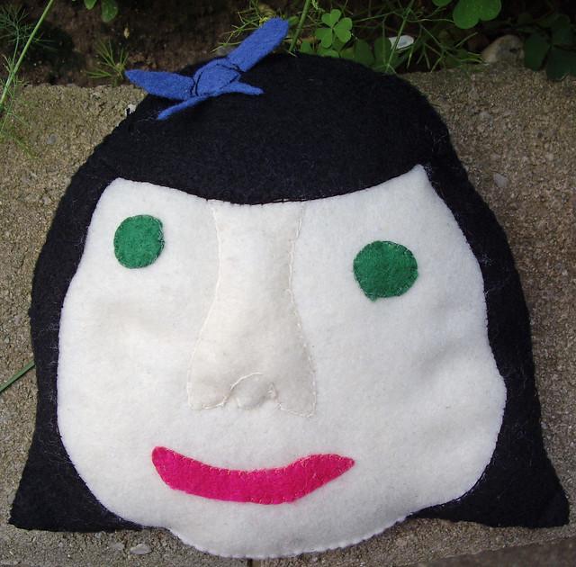 Evangeline's Girl Power Pillow