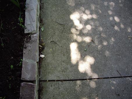 Cement plus light equals attractive tiles