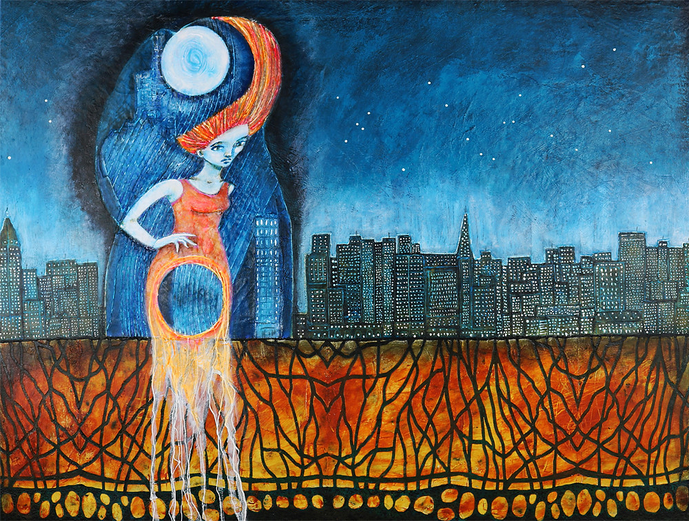 Wiebe-art pic 24-Painting She Rises