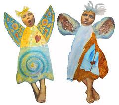 A Small Flock~Carol Angel and Barb Angel