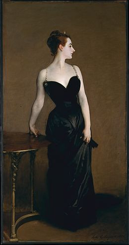 Portrait of Madame X ~ by