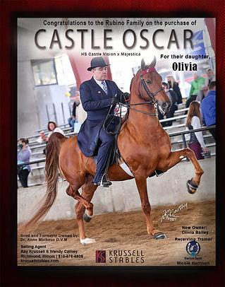 KRUSSELL STABLES_CASTLE OSCAR_APRIL_2021