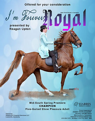 HARRIS_GLASSCOCK_I'M FOREVER ROYAL_MAY_2