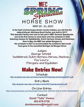 MEC Spring Classic_Horse Show_Tuffy_Apri