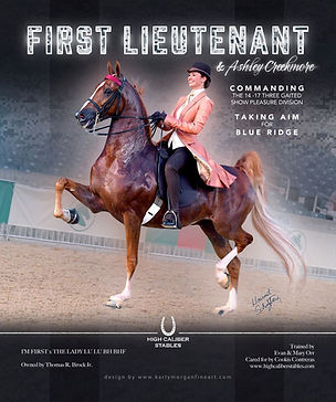 High Caliber_Creekmore_ First_lieutenant