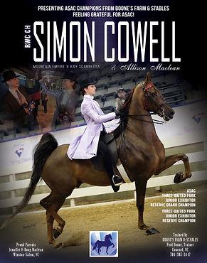 RWC CH Simon Cowell