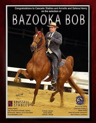 KRUSSELL STABLES_WHITE_BAZOOKA BOB_April