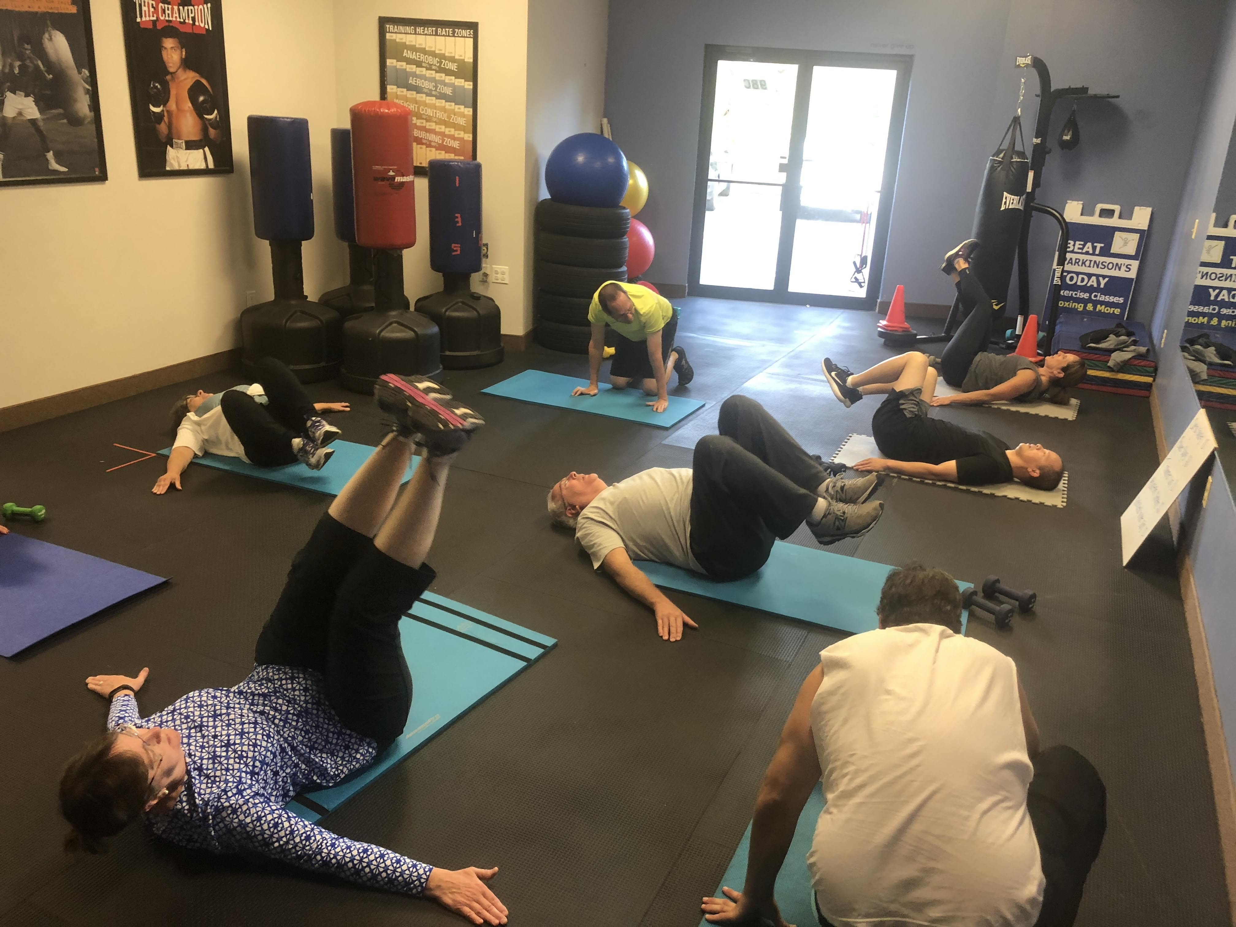 Beat Parkinson's Today Gym Photo 2