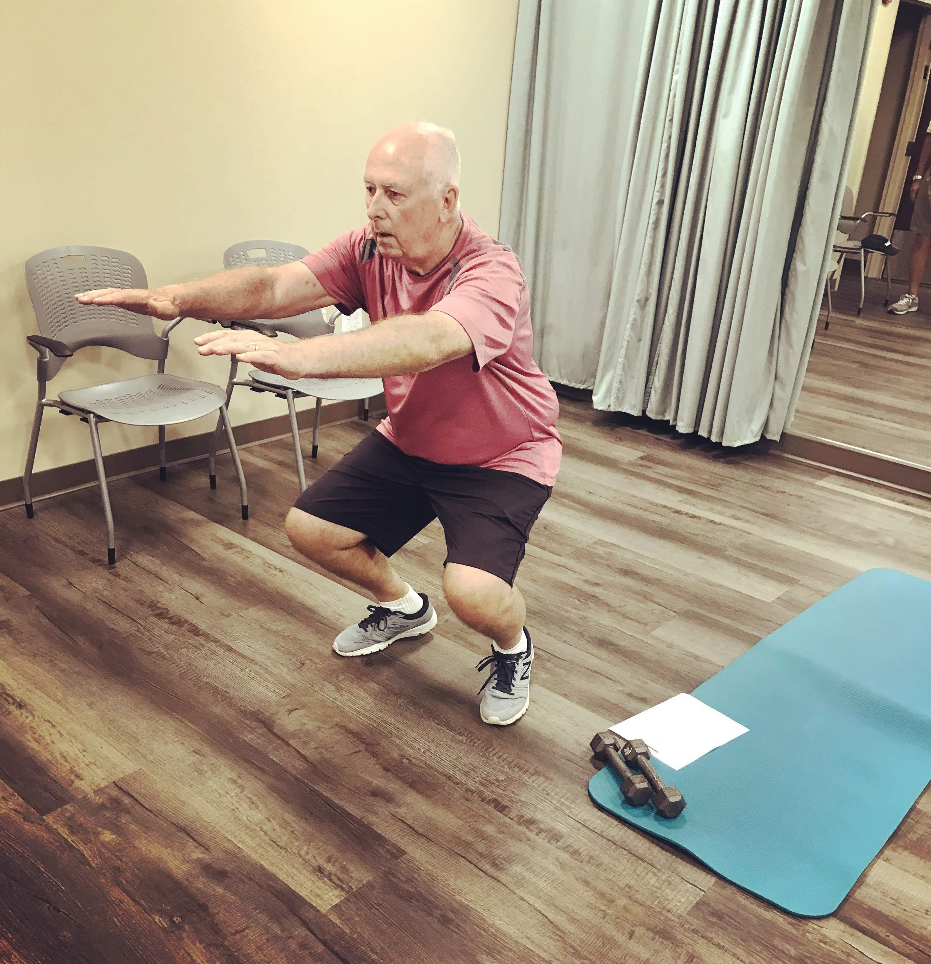 Beat Parkinson's Today Gym Photo 3
