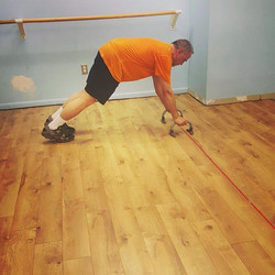 Pauls push-ups! I am so proud of Paul's hard work