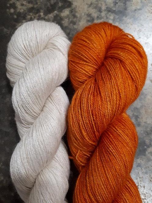 Alpaca/Mulberry Silk