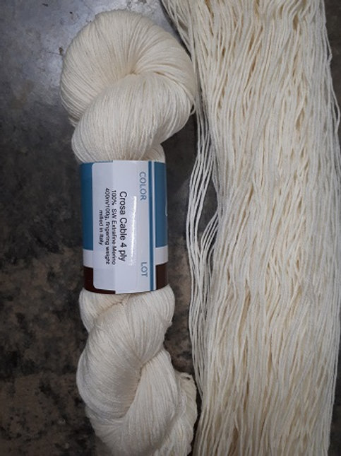 Crosa Cable 4 ply