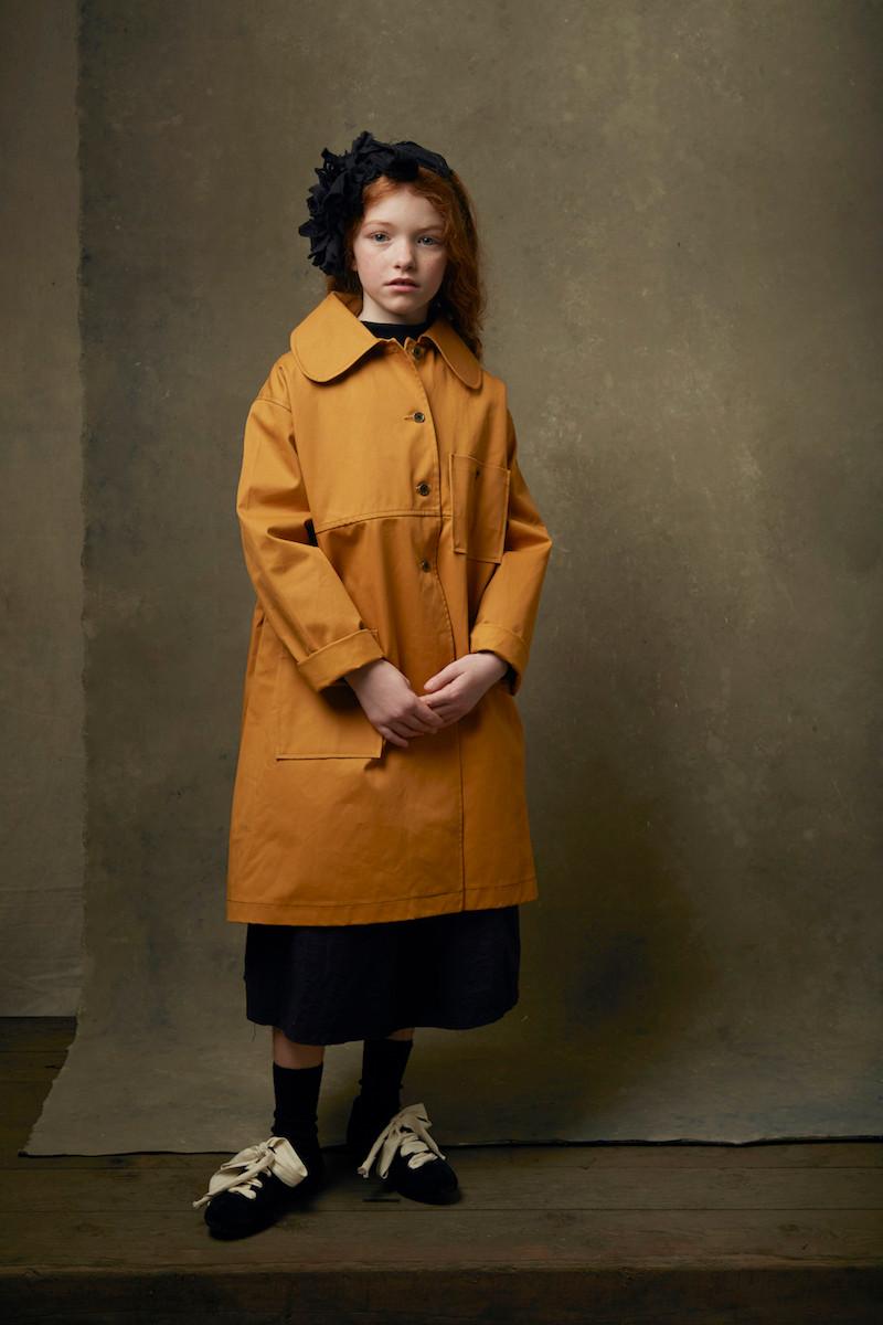 Wax Wide Coat