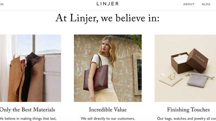 why everybody is in love with linger's bags