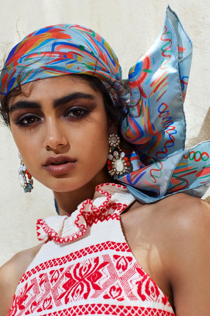 Luxury scarfs by Dikla Levsky