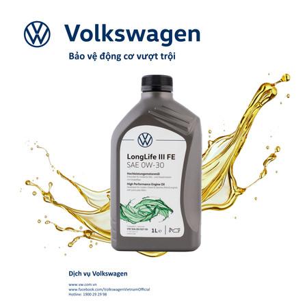 Volkswagen Việt Nam ra mắt dòng nhớt chính hãng hoàn toàn mới