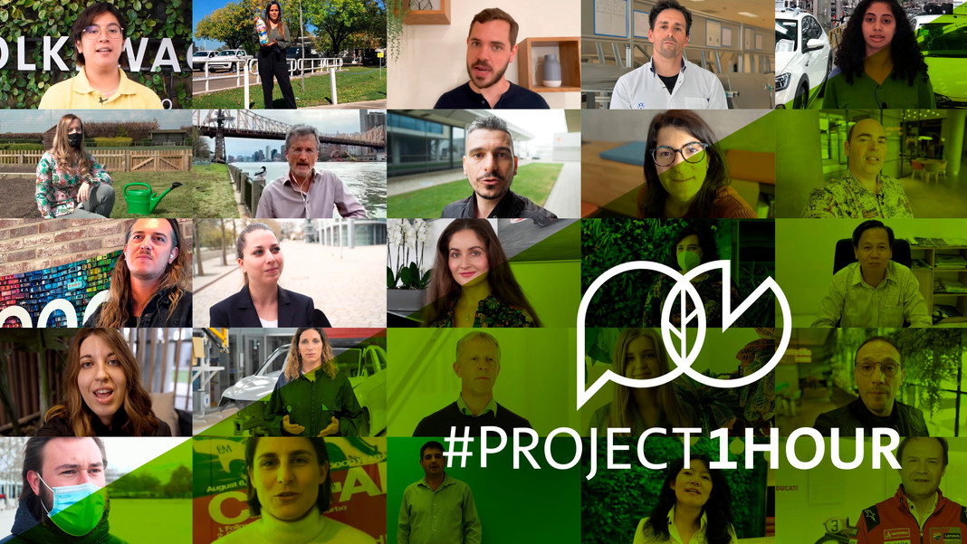 # Project1Hour: 660.000 nhân viên của Tập đoàn Volkswagen phát động chiến dịch khí hậu