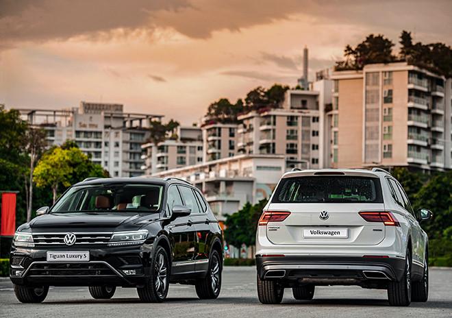 Điểm qua những mẫu SUV ăn khách của hãng xe Volkswagen