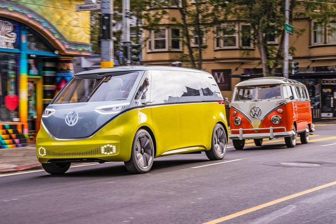 Volkswagen ID.Buzz - tiếp nối huyền thoại