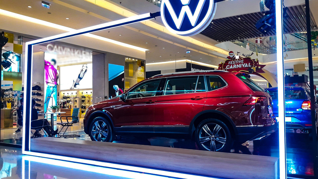 Triển lãm Volkswagen tại TTTM Crescent Mall