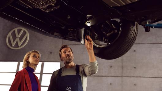 Volkswagen ưu đãi dịch vụ cho khách hàng